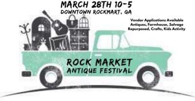 Rock Market Antique Festival March 2020