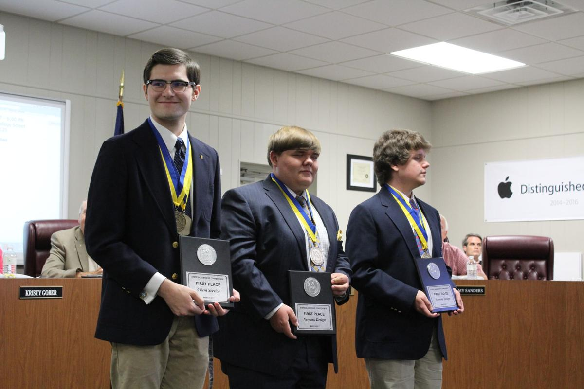 FBLA winner recognized at Polk County Board of Education meeting