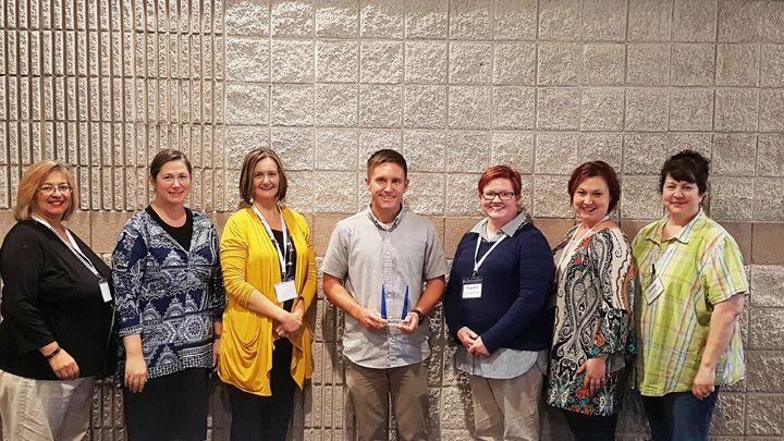 Calhoun's Lindsey named Educator of the Year at the North Georgia Autism Conference