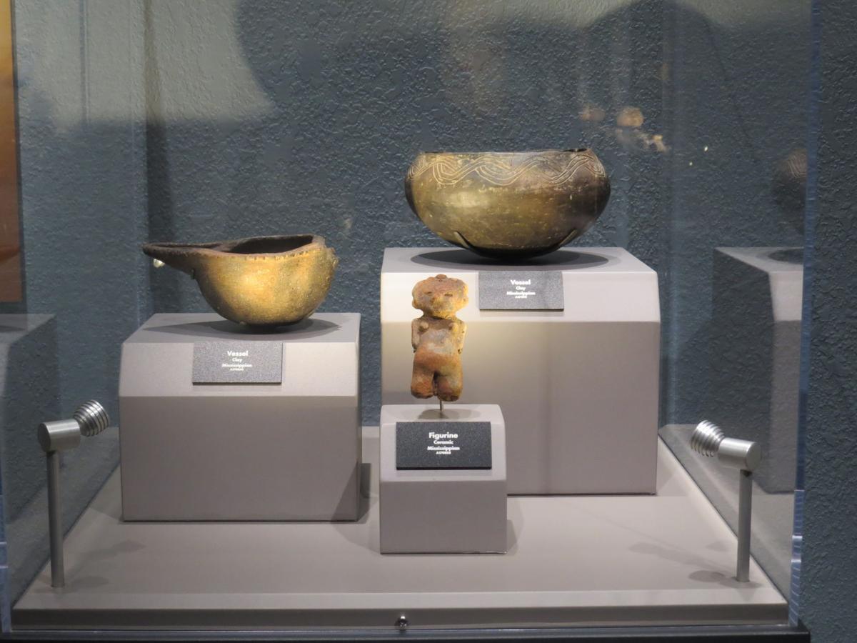 Etowah Indian Mounds pottery