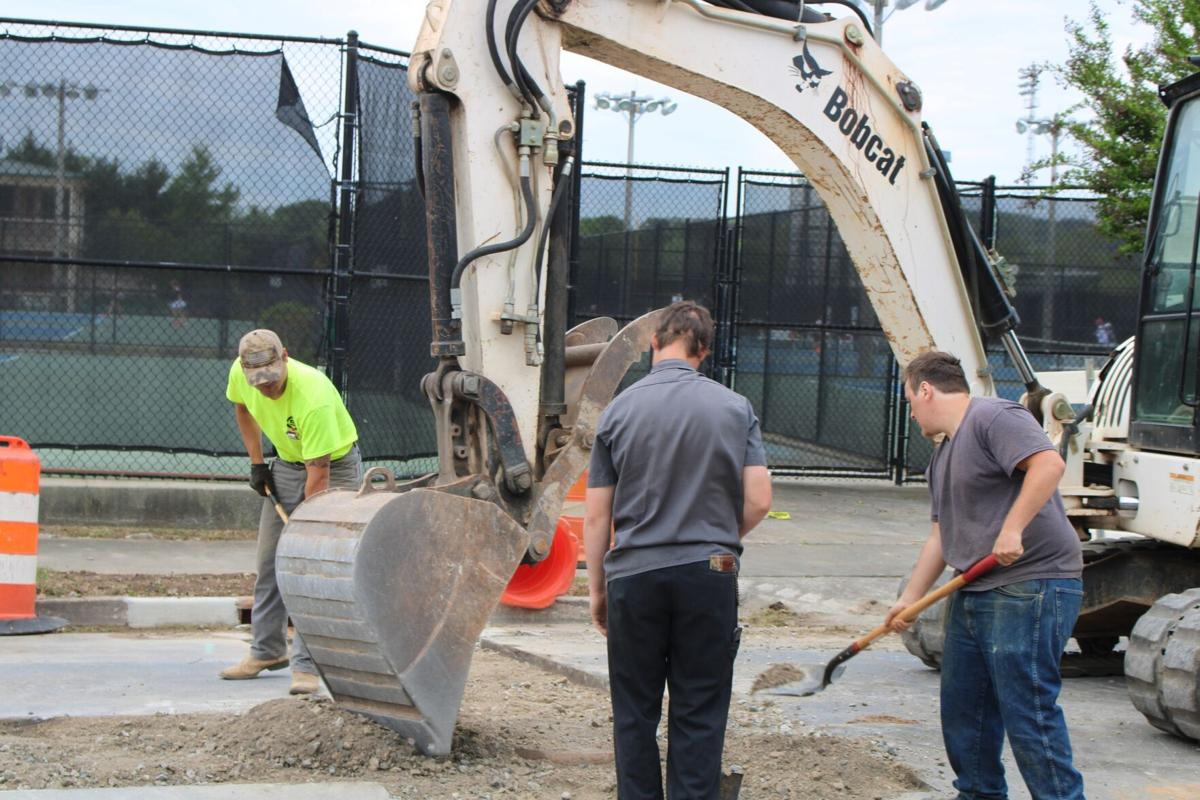Work moves forward in the River District