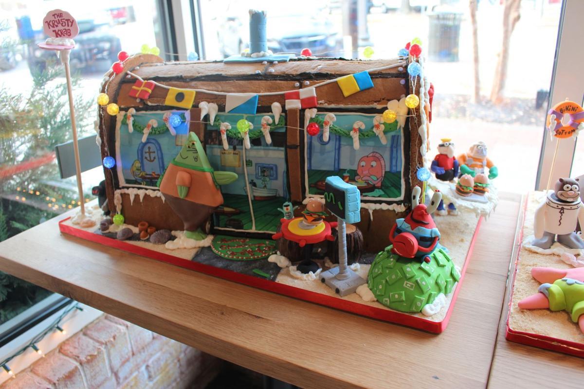Honeymoon Bakery's Spongebob Squarepants Gingerbread House