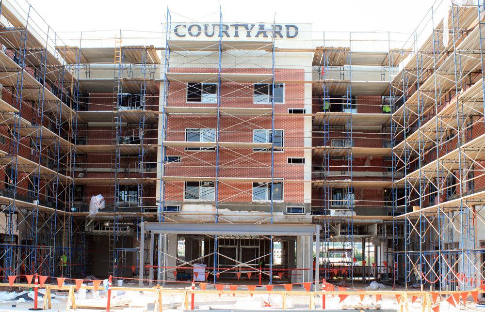 Marriott Courtyard construction Gallery