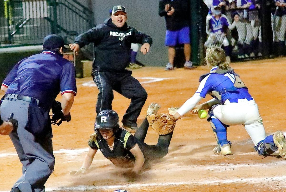 Rockmart softball falls one win shy of a state championship