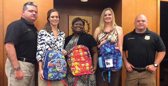 Book bags for foster children
