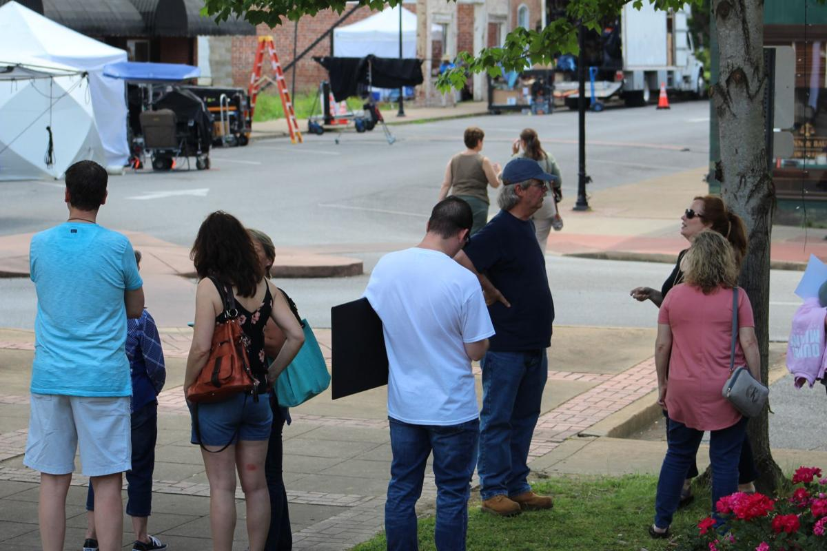 """Irresistible"" filming in Downtown Rockmart"