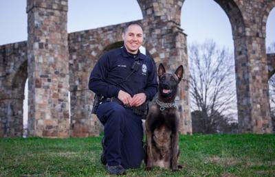 RPD officer partnered with K-9 for Rome Floyd Metro Task Force