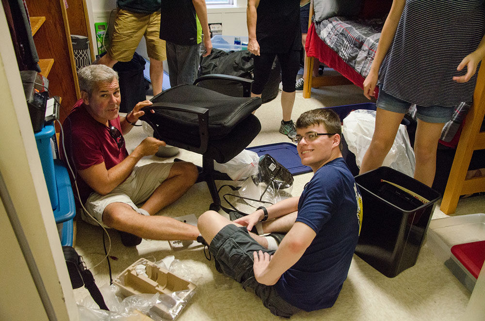 Shorter University move-in day