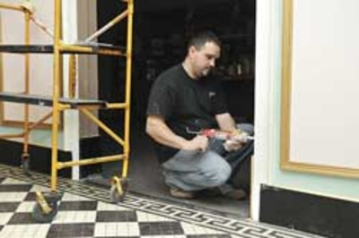 DeSoto Theater vestibule facelift finished; more work to com | Local New