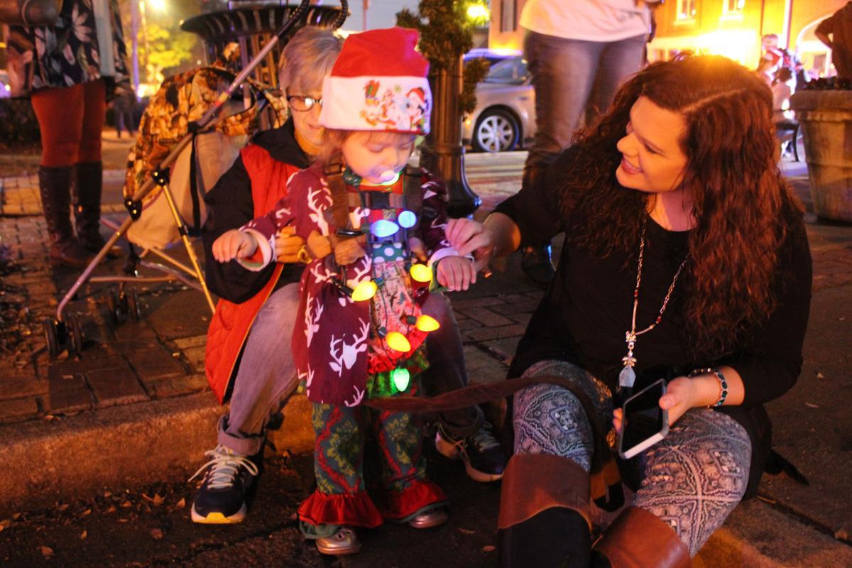 Rockmart celebrates Christmas with parade, tree lighting