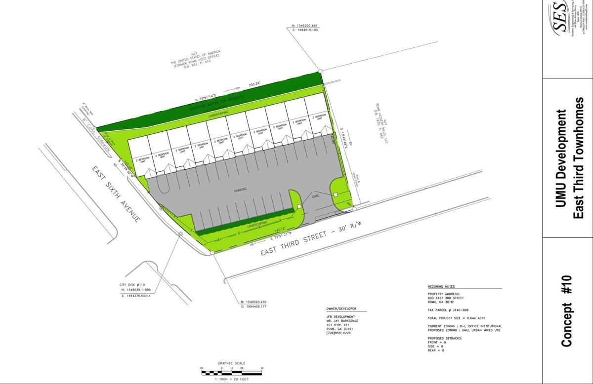 Barksdale site plan