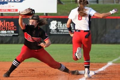 Lady Dawgs swept by Heritage in close series