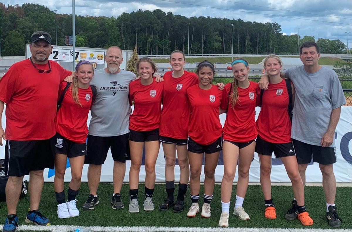 Rome area members of the 2021 Georgia High School Girls Soccer All-Star Team