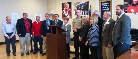 Press conference on school safety