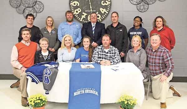 SOFTBALL: Ringgold's Kaylee Womack inks with burgeoing DII power