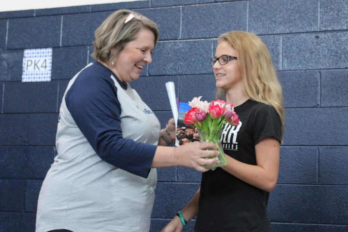 St. Mary's honors teacher of year