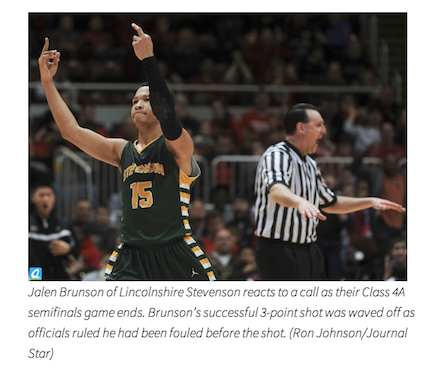 What seemed like a high school player 'flipping off' sets off a photo firestorm