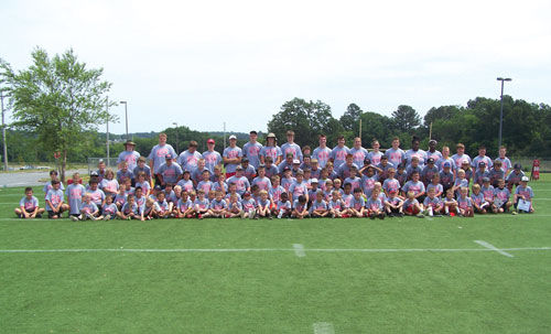 Sonoraville Football Camp