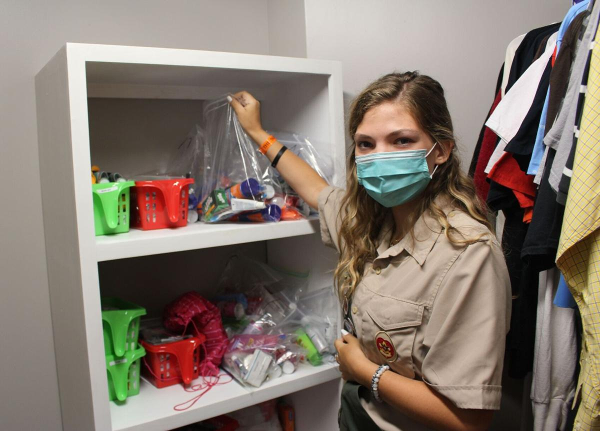 Second female Eagle Scout in region organizes Redmond care closet