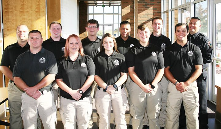 GNTC Law Enforcement Academy Graduation for Class #201701 held Tuesday, Oct. 31