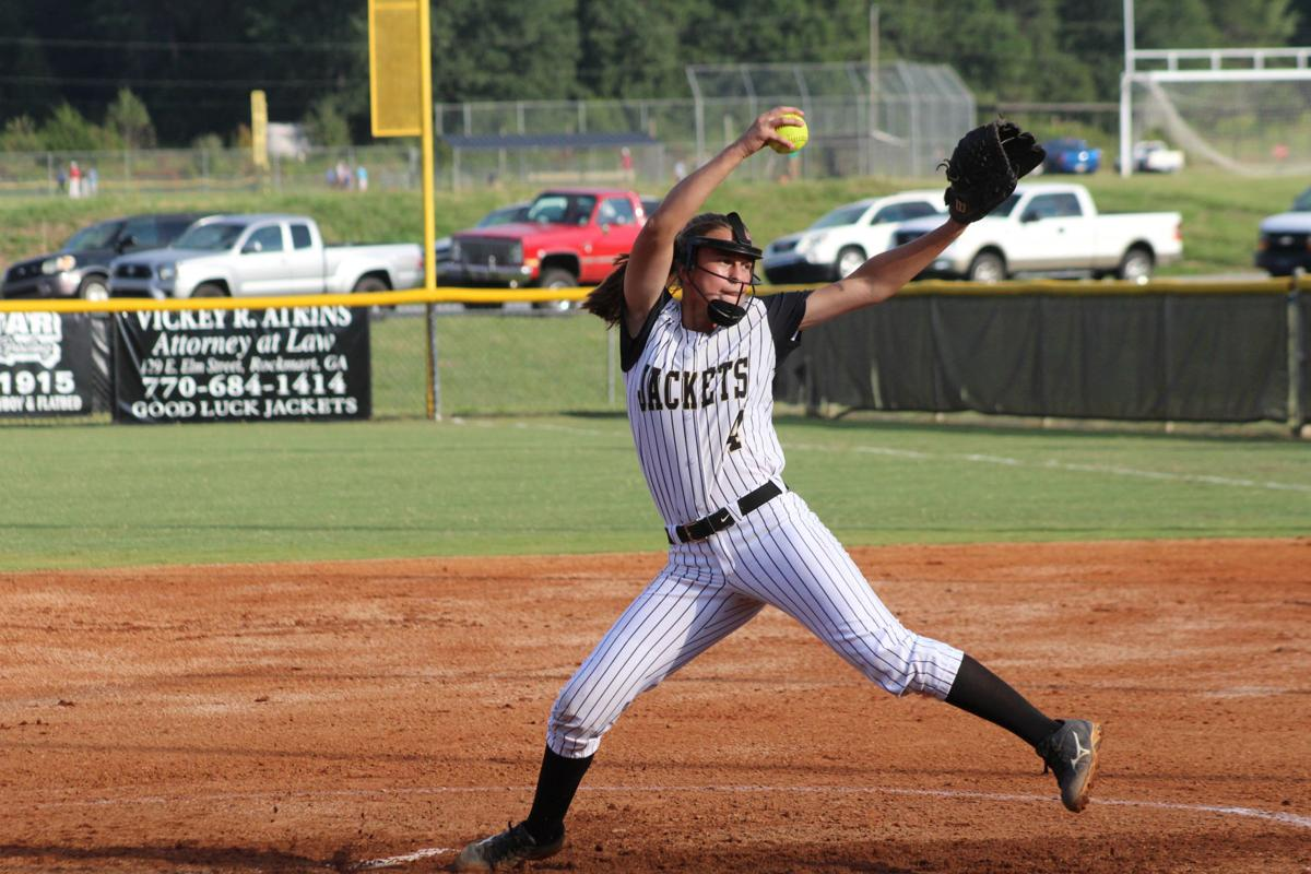 Rockmart Lady Jackets softball