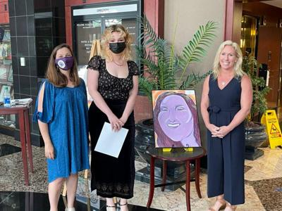 Model High School's Tessa Knowles wins 14th District Art Competition people's choice award
