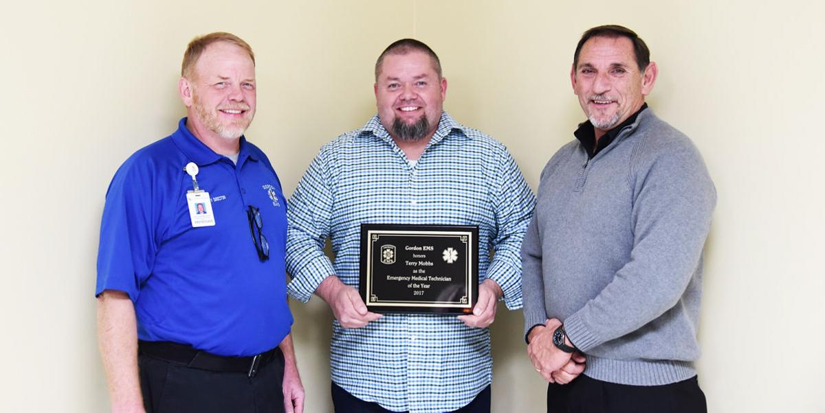 Gordon EMS names EMT and Paramedic of the Year