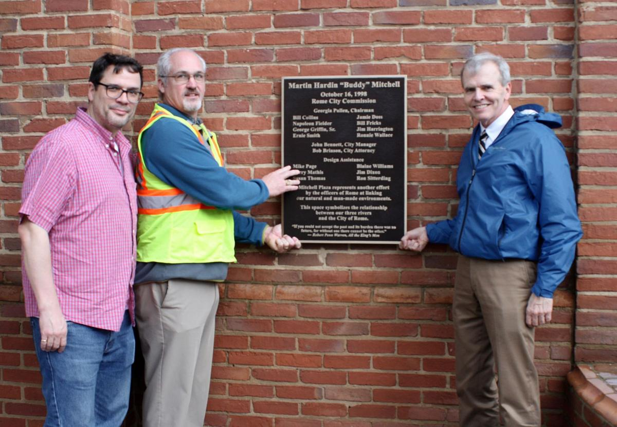 New plaque honors memory of 'Buddy' Mitchell