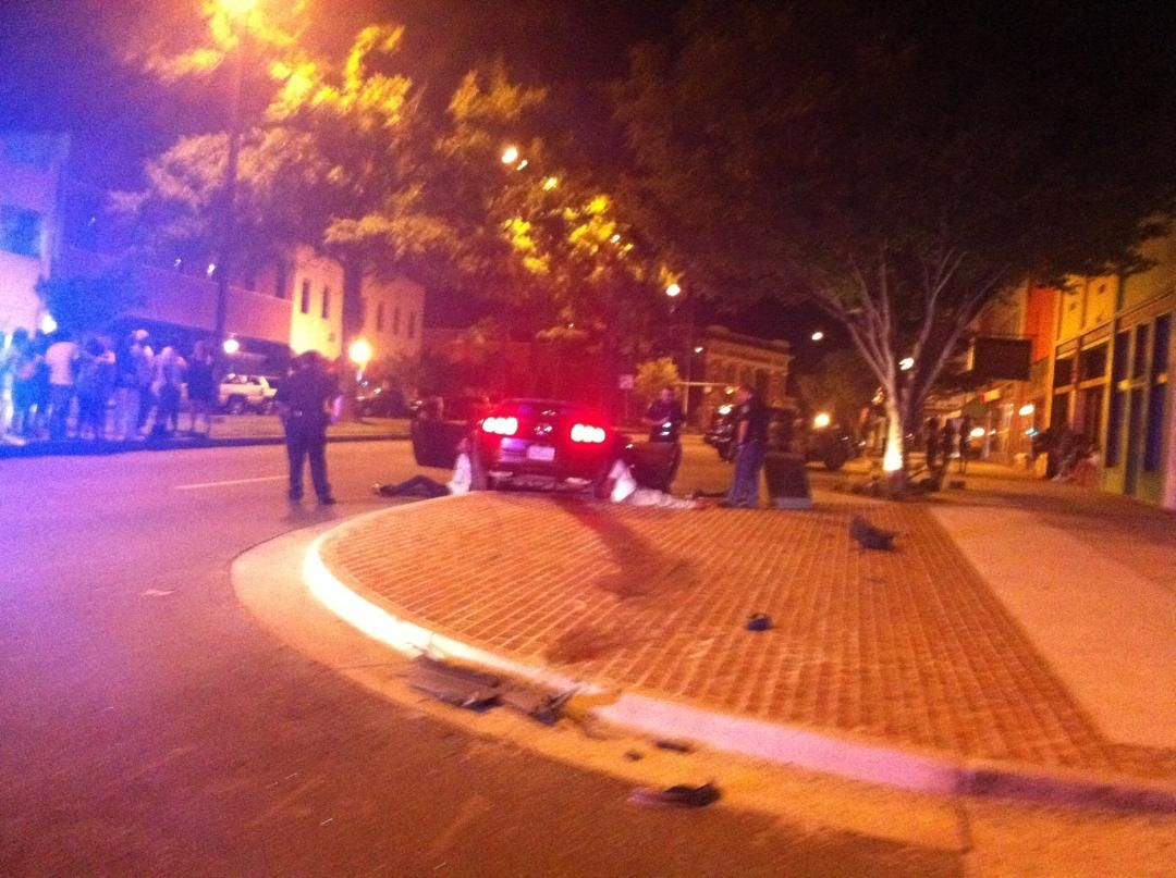 Shooting scene on Broad Street