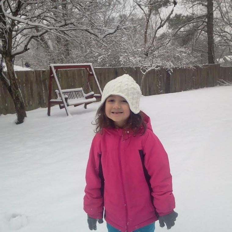5-year-old Kaydence Parker of Calhoun