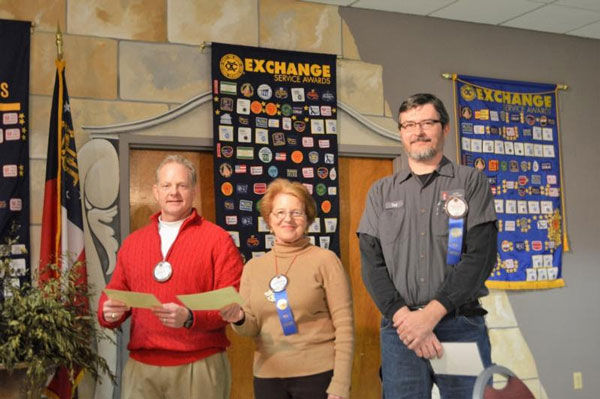 Exchange Club of Rome welcomes new members