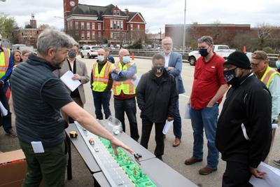 City officials discuss proposals for reuse of Fifth Avenue Bridge on Friday