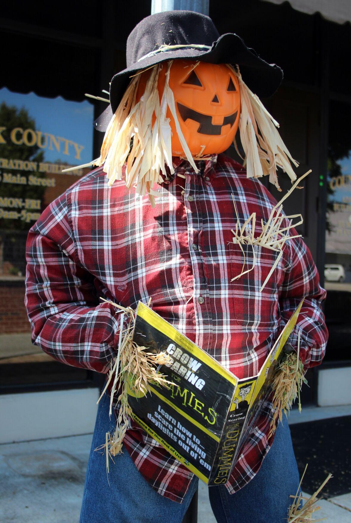 Scarecrows dot downtown Cedartown for DCA contest