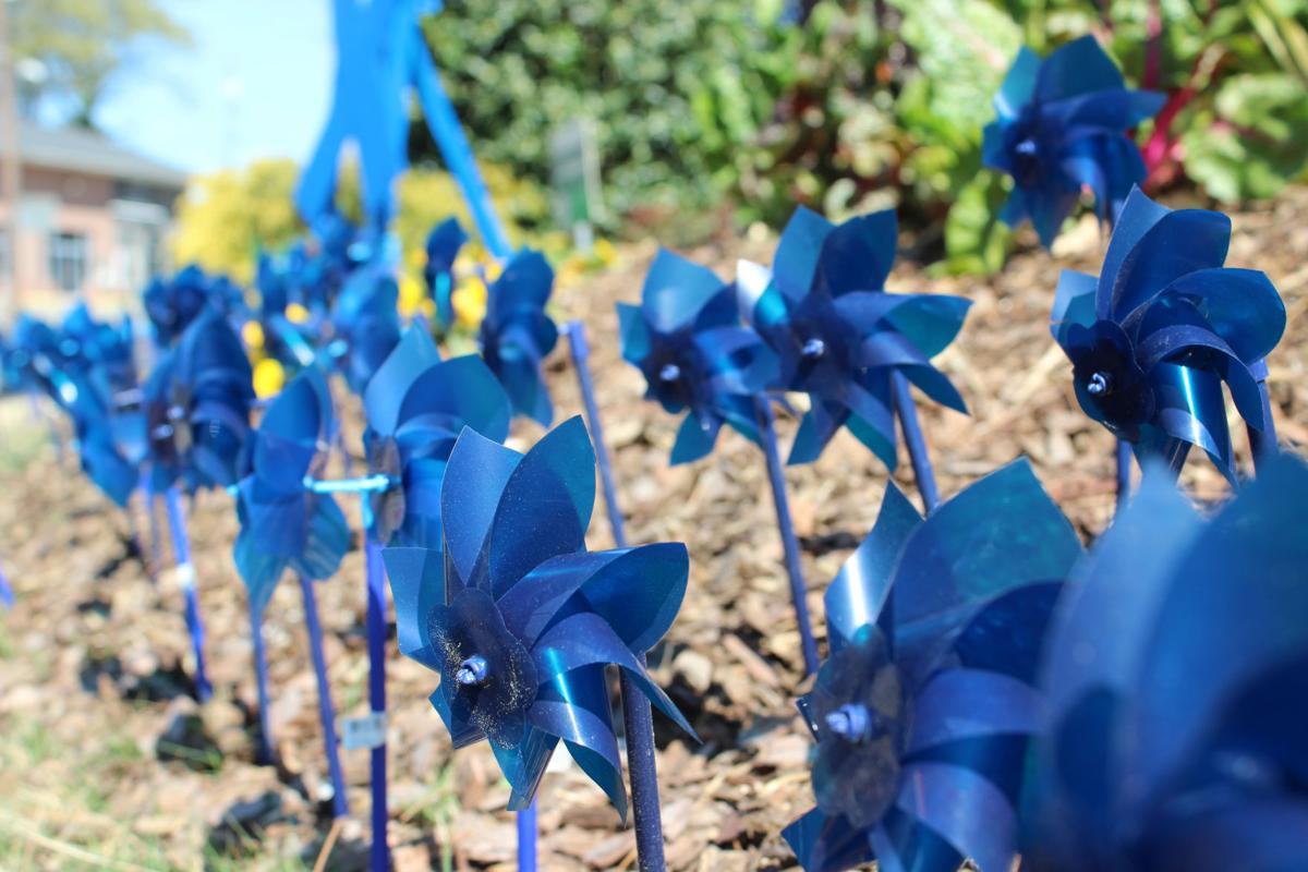 Placement of the Pinwheels