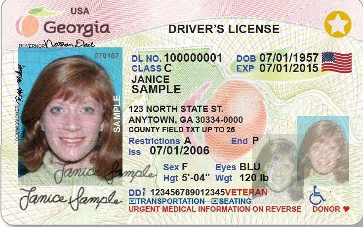 Available License All Vets com Northwestgeorgianews State id For Veteran's Driver's Georgia