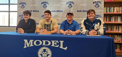 Model High School - 2021 National Signing Day Signees