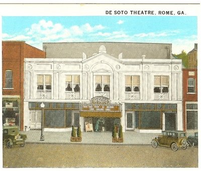 Façade project begins at Historic DeSoto Theatre this month