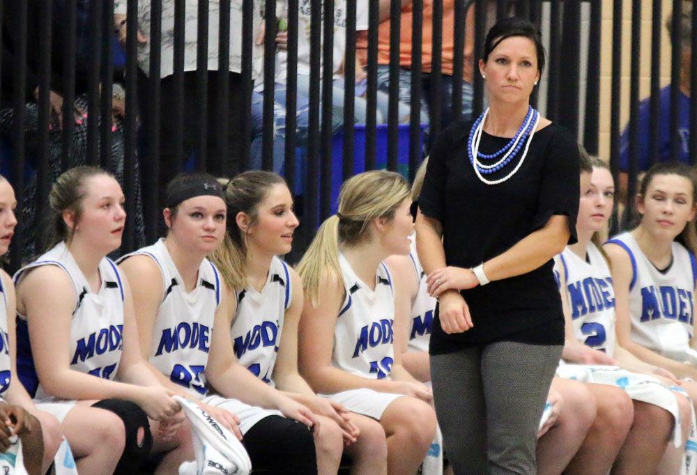 Model girls' basketball head coach Sally Echols