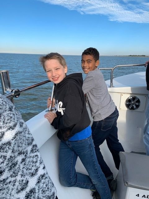 Floyd County 5th-grade Kaleidoscope students take on Tybee Island