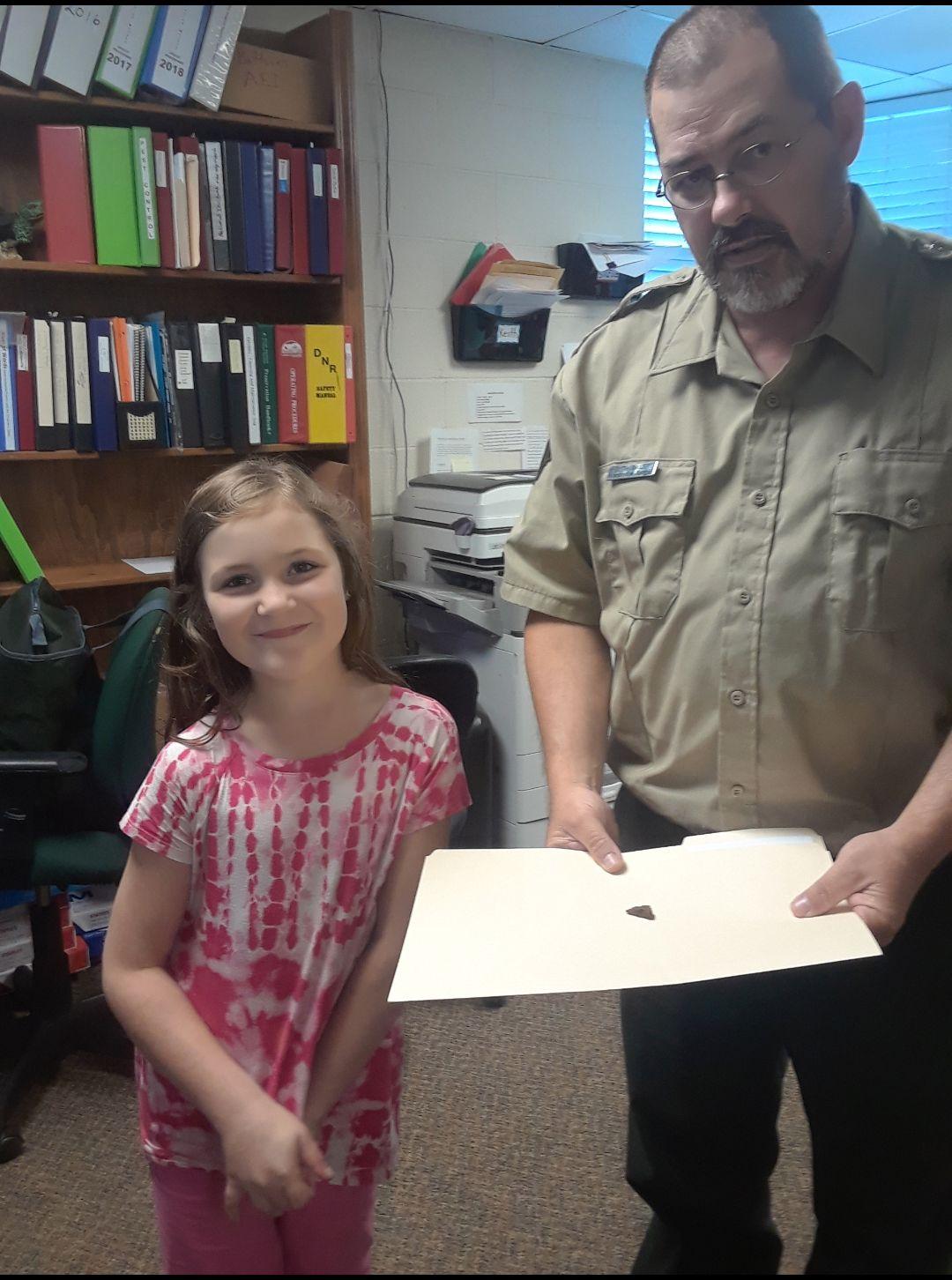 Cheyenne Smith artifact find