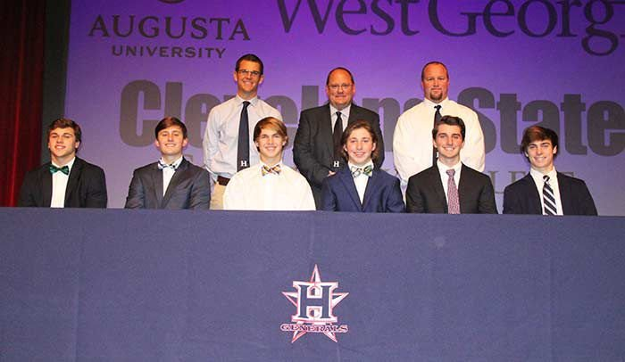 BASEBALL: Six Heritage seniors sign letters of intent