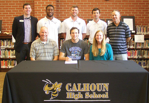 Calhoun's Rierson signs with Georgia College