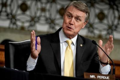Sen. David Perdue, Senate Armed Services Committee hearing
