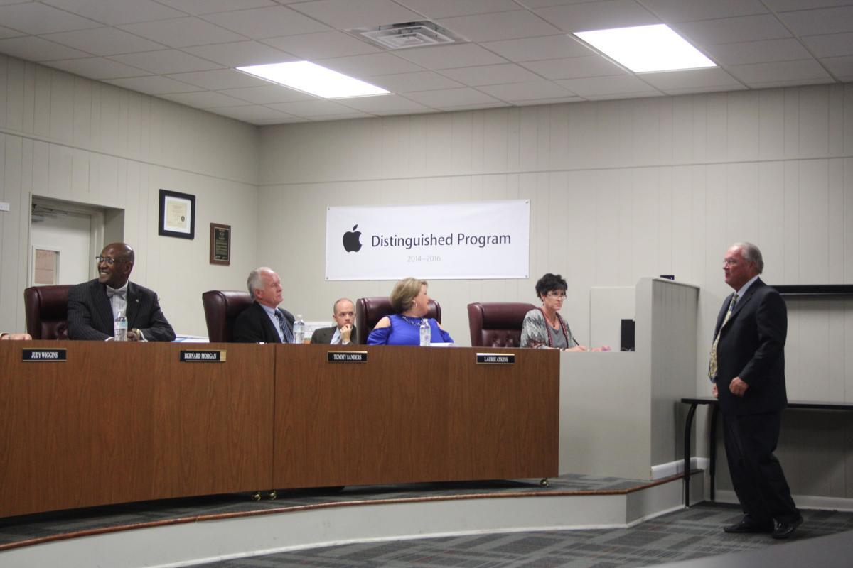 Polk County Board of Education, October 2017 meeting