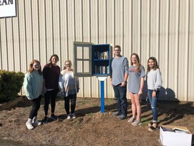 Students and City team up on Little Free Libraries