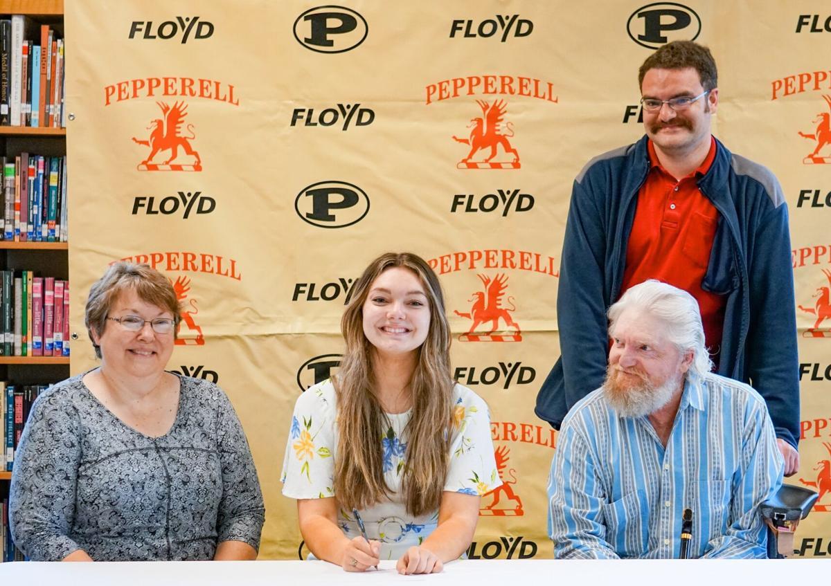 Pepperell High School senior Trisha Dobson signs with Dean College