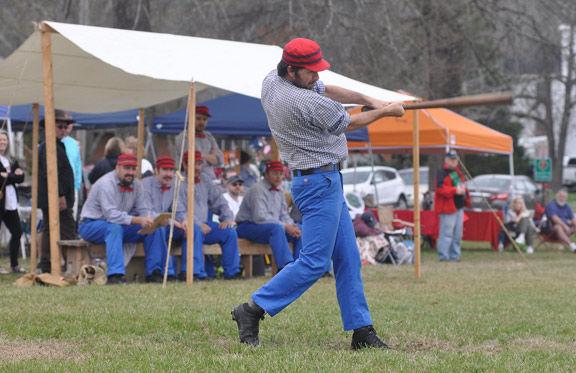 "Vintage Baseball Lightfoot Club's Blake ""Chalky Pipelegs"" Harris"