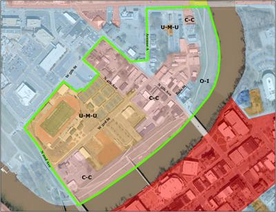 Planning Dept pushing for U-M-U zoning in River District