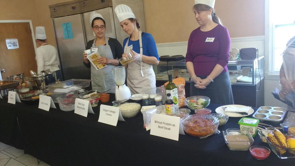 Cedar Christian School cooking class
