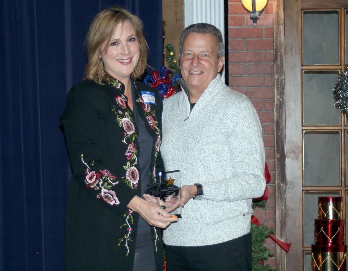 Thornton receives Fricks Award